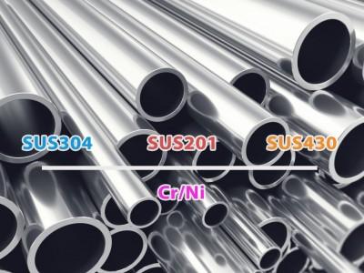 Phân loại các chất liệu inox phổ biến theo thành phần