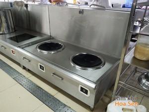Bếp từ công nghiệp 2 mặt lõm 16Kw