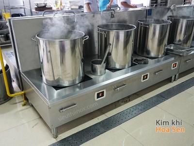 Bếp từ công nghiệp 3 mặt phẳng