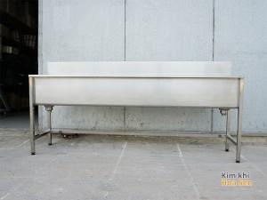 Máng rửa tay inox dài 1.5m; 2m