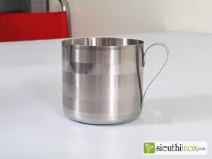 Ca uống nước inox 304, không viền mép