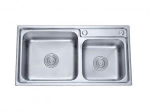 Chậu rửa inox 304, cr-8043B