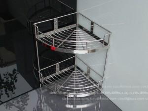 Kệ góc inox 2 tầng 25-H304