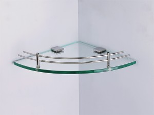Kệ kính góc nhà tắm 1 tầng BN600