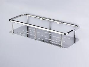 Kệ inox nhà tắm loại 1 tầng, inox 304, BN710