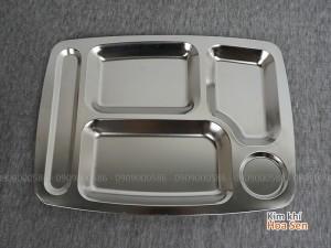 Khay cơm inox loại 5 ngăn, 5N3627B