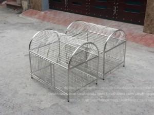 Chuồng chó mèo inox, KT 40x60