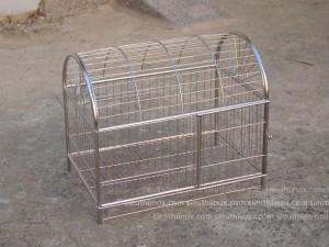 Chuồng chó mèo inox, kt 50x60