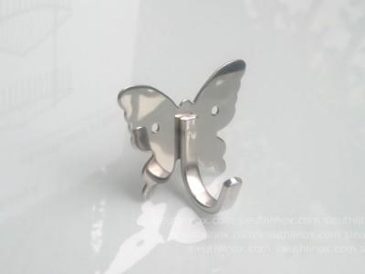 Móc áo inox hình bướm, M101