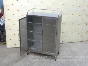Tủ inox đựng ca cốc, bát đĩa 6030-LT