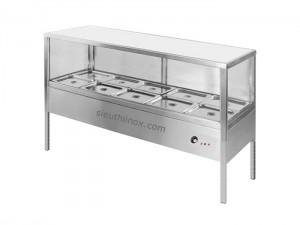 Tủ quầy giữ nóng thức ăn có kính