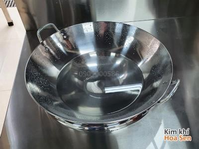 Chảo inox dùng cho bếp từ công nghiệp