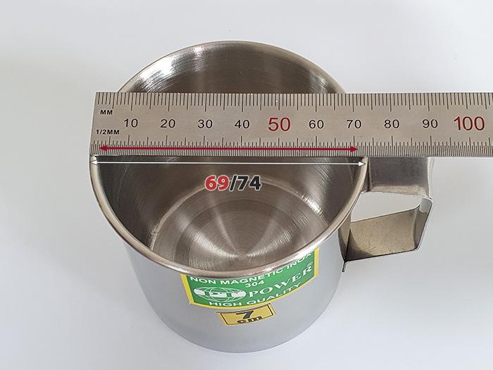 kích thước ca inox 7cm 304