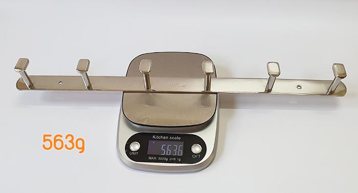 Khối lượng móc áo inox 304 BN316