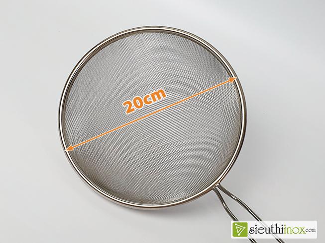 Rây lưới inox 20cm